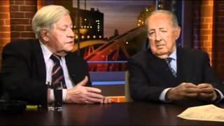 Helmut Schmidt + Peter Scholl-Latour erklären den Deutschen den Islam