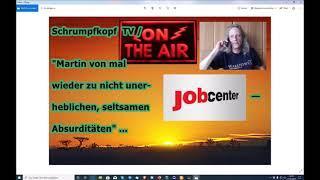 """Trailer: Schrumpfkopf TV / """"Martin von aufs Neue zu Firmenjobcenterabsurditäten"""" ..."""