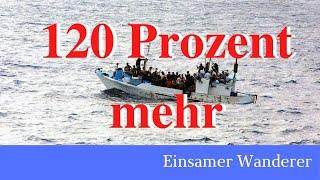 Asylzahlen im Mai um 120 Prozent gestiegen! (irre: auf dem Hauptkanal war upload nicht möglich!)