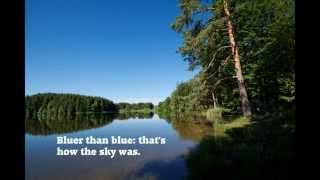 Bluer Than Blue, song by Kate Willens, video by Karl Schreiber