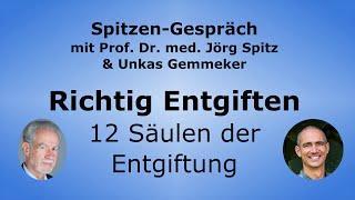 Richtig Entgiften - 12 Säulen der Entgiftung -  Prof Dr. med. Spitz mit Unkas Gemmeker