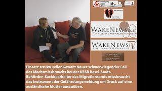 KESB Basel-Stadt - Einsatz struktureller Gewalt - Gefährdungsmeldung als Druckmittel gegen Familien