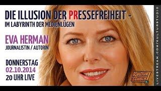 Kulturstudio Klartext No 100 - Eva Herman // Die Illusion der PRessefreiheit