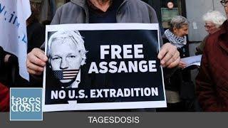"""Assange = Vor unseren Augen vom """"Rechtsstaat"""" zu Tode gefoltert"""