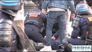 [Gilets jaunes ACTE 19] Malaise cardiaque d'un policier secouru par des Streets Medic & collègues