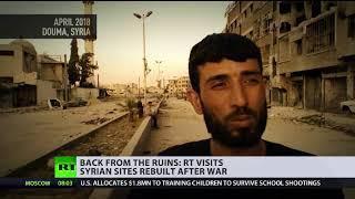 Syrien: Nach Jahren des Krieges beginnt der Wiederaufbau