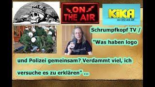 """Trailer: Schrumpfkopf TV / """"Was haben logo und Polizei gemeinsam? Ich erkläre es"""" ..."""