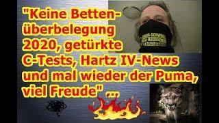 """""""Keine Bettenüberbelegung 2020, getürkte C-Tests, Hartz IV-News und mal wieder der Puma"""" ..."""