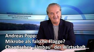 """Andreas Popp: Mikrobe als falsche Flagge? Chaotischer """"Umbau"""" der Wirtschaft…"""