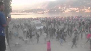 """Lage auf Lesbos eskaliert: Massenschlägerei zwischen Einheimischen und """"Flüchtlingen"""""""