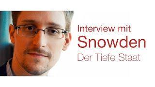 Edward Snowden Interview in München, dem die deutschen Medien keinerlei Aufmerksamkeit schenkten