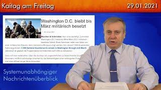 Der politische Wochenrückblick - Kaitag am Freitag #235 - 29.01.2021