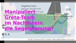 Azoren-Rätsel: Manipuliert Greta-Team die Routenplanung im Nachhinein??