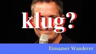 Nuhr nicht nachdenken - zum kürzlichen statement von Dieter Nuhr