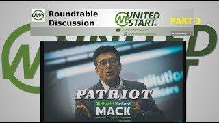 UNITED WE START: Our First UWS Roundtable Discussion 10th February 2018 Part 3 Sheriff Mack