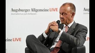 Friedrich Merz über Greta Thunberg, Lobbyismus und die CDU