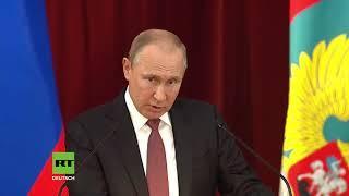 """Putin warnt vor dem Deep State in den USA: """"Diese Leute sind mächtig und stark"""""""