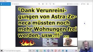 """""""Bei diesen Verunreinigungen von Astra-Zeneca müsste sich doch ne Wohnung finden lassen, usw.!!! ..."""