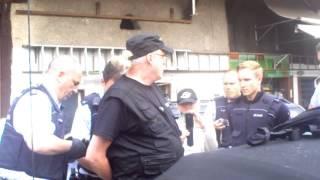 LIVE Aufnahme der Verhaftung von Detlev am 27.04.2015 in Grenzach-Wyhlen