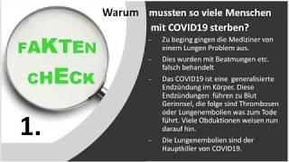 Der grösste Fehler bei COVID-19, Coronavirus
