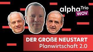 alphaTrio - Der große NEUSTART - Dr. Markus Krall, Dr. Markus Elsässer & Florian Homm