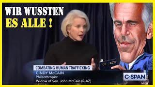Cindy Mccain sagt, wir wussten es alle...Jeffrey_Epstein Menschenhandel 2020