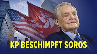 """Die KP Chinas bezeichnet George Soros als """"Sohn des Teufels"""""""