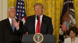 Trump:  die USA ist kein Erholungsheim für Flüchtlinge
