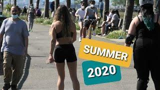 NEW YORK CITY: MANHATTAN in JULY 2020