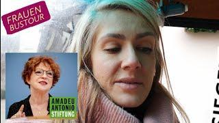 Eva Rosen über Anetta Kahane, Vorsitzende Amadeu Antonio Stiftung - Frauen Bustour, Siegen 11.12.20