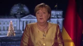 KA NZ LER IN - 40 Lügen in 7 Minuten – Die Neujahrsansprache 2021 von Angela Merkel