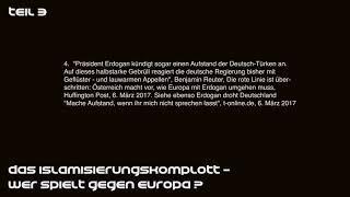 Die multikulturelle NWO Agenda 3 Teil Wolfgang Eggert