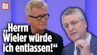 """""""Herrn Wieler würde ich entlassen """"""""Karl Lauterbach darf unter keinen Umständen Gesundheitsministe"""