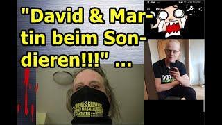 """""""David und Martin beim Sondieren, usw.!!!"""" ..."""