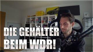 Skandal um WDR und ÖR weitet sich aus - Die Gehälter beim WDR