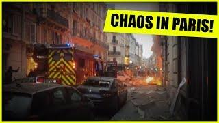 HUGE EXPLOSION IN PARIS! LIVE ON THE SCENE!