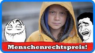 Greta Thunberg erhält Menschenrechtspreis & Wie sich YouTube, Facebook, Twitter selbst zerstören