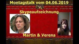 Trailer: Schrumpfkopf TV / Skypeaufzeichnung des Montagstalks Martin & Verena vom 04.06.2019