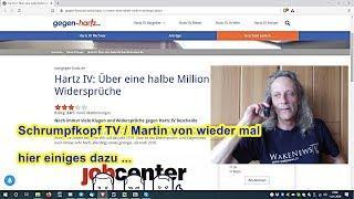 Trailer: Schrumpfkopf TV / Martin von zu JOBCENTER Abartigkeiten ...