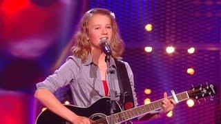 Unglaublich ! Laura sings 'I Will Always Love You' by Whitney Huston - The Voice Kids - The Blind Au