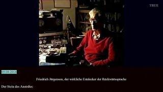 Friedrich Jürgenson, der wirkliche Entdecker der Rückwärtssprache