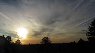 Um 9 Uhr ist der Himmel dicht!