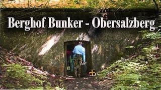 ADOLF HITLERS BUNKERANLAGEN - Der Berghof Bunker am Obersalzberg -  Blick ins Innere eines Berges