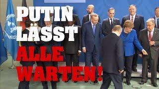 """PUTIN lässt Merkel warten! Schaut, wie """"cool"""" sie reagiert!"""