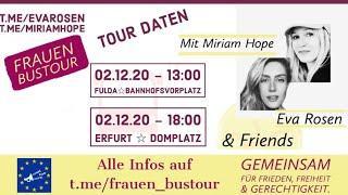 ????LIVE | Frauen Bustour ❤️Fulda | Miriam Hope & Eva Rosen + Friends