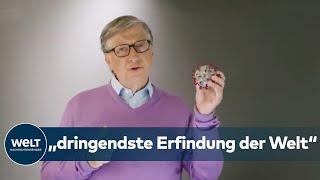 """Bill Gates: CORONA-IMPFSTOFF ist die """"dringendste Erfindung der Welt"""""""