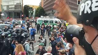 Berlin Demo 28.08.2021 Ohne Helm und Knüppel