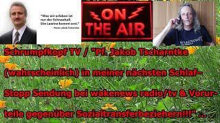 """Trailer: """"Pf. Jakob Tscharntke (wahrscheinlich) in meiner nächsten Schlaf–Stopp Sendung, usw."""" ..."""