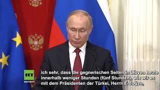 Putin warnt vor militärischer Eskalation im Mittleren Osten: Eine Katastrophe für die ganze Welt