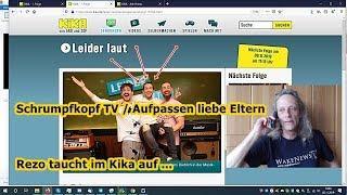 Trailer: Schrumpfkopf TV / Aufpassen liebe Eltern, Rezo taucht im Kika auf!!!